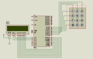 image for How to interface LCD and KEYPAD-PHONE with 8051