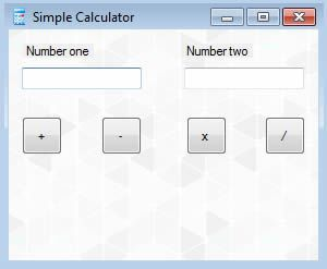 image for Visual basic simple mathematical calculator