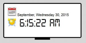 image for Showing current time and date using javascript
