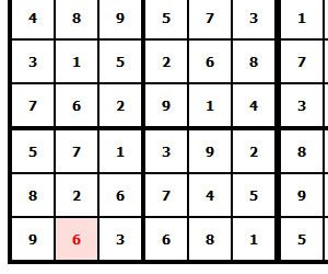 image for Number detection in 9x9 SUDOKU